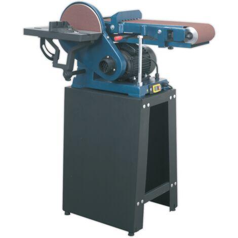Sealey SM15 Belt/Disc Sander Floor Standing 1220 x 150mm/Ø230mm