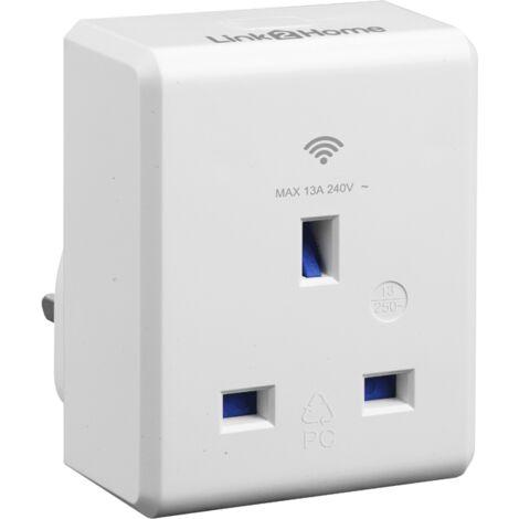 Link2Home LTHSMARTPLUG Wi-Fi Plug-in Socket 13 amp