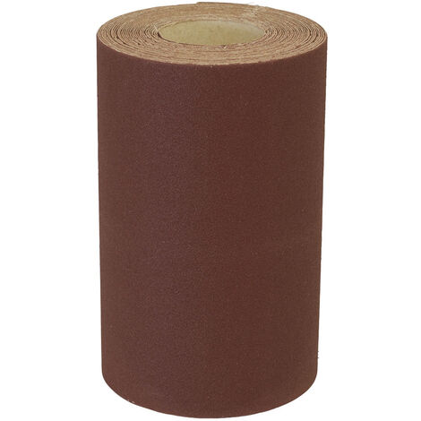 Sealey WSR5180 Production Sanding Roll 115mm x 5m - Extra Fine 180Grit