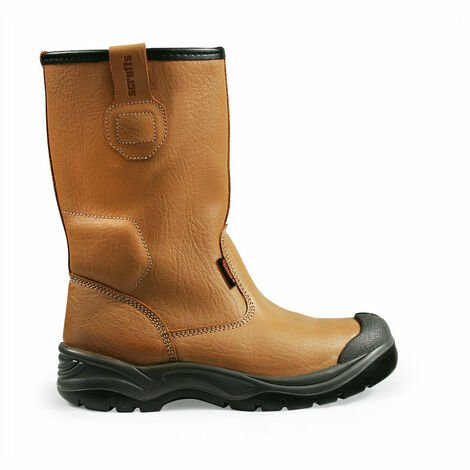 Scruffs T50910 Gravity Rigger Safety Boots S1P (Tan)