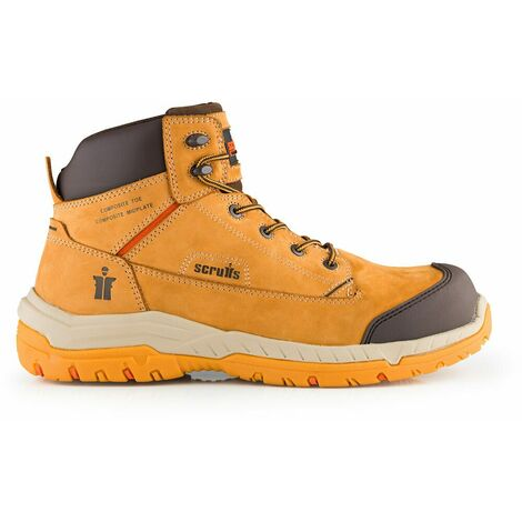 Scruffs T54980 Solleret Safety Boots (Tan)