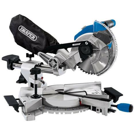 Draper 55588 D20 20V Brushless 185mm Sliding Compound Mitre Saw - Bare