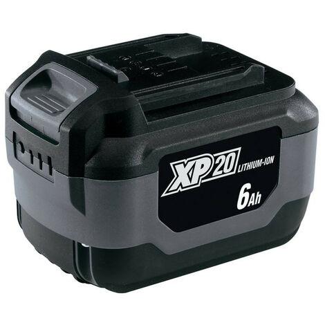Draper 56333 XP20 20V Lithium-ion Battery (6.0AH)