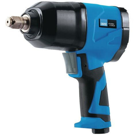 """Draper 65017 Storm Force Air Impact Wrench with Composite Body (1/2"""" Sq. Dr.)"""