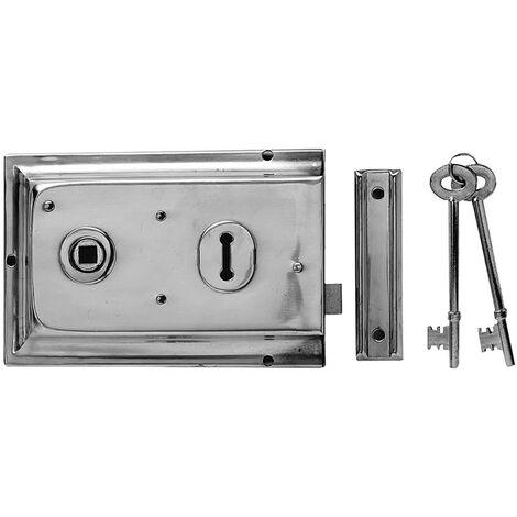 Yale Locks YALP334GRY P334 Rim Lock Grey Finish 156 x 104mm Visi