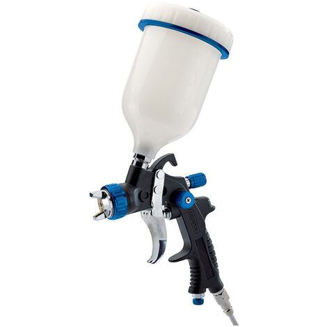 Draper 09707 HVLP Air Spray Gun with Composite Body and 600ml Gravity Fed Hopper