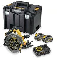 DeWalt DCS575T2 54V XR 190mm FlexVolt Circular Saw with 2x 6.0Ah Batteries