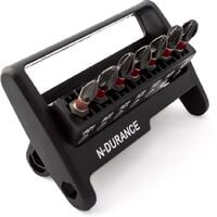 N-Durance Pozi Impact Bit Set With Magnetic Bit Holder