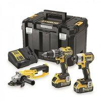 DeWalt DCK383P2T 18V 3 Piece Tool Kit with 2x 5.0Ah Batteries