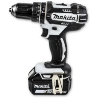 Makita DHP482T1JW 18V Cordless Combi Drill with 1x 5.0Ah Battery (Black & White Edition)