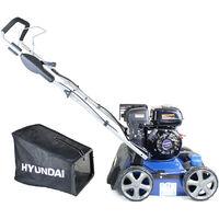 Hyundai HYSC210 212cc Petrol Self-Propelled Lawn Scarifier and Aerator