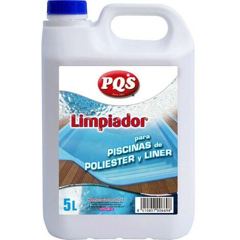 MUGAR Limpiador piscinas poliéster/liner Gf. 5 L