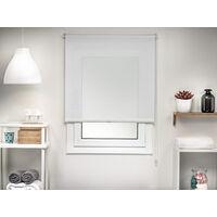 Easydeco - Estor enrollable Screen Mini - Sin necesidad de taladro (Blanco, 42_x_190_cm)