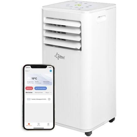Suntec Climatiseur Mobile FREEZE 7.000 Eco R290 - Climatiseur Portable 3 en 1 (2,1 kW) ~60 m³/ 25 m² (7.000 BTU)