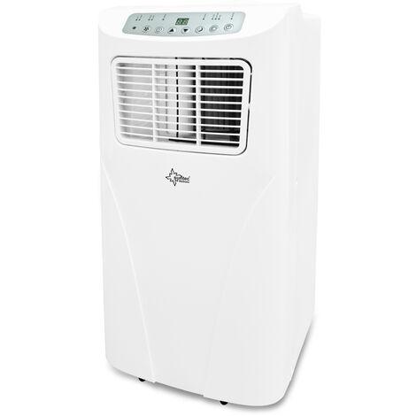 SUNTECClimatiseur Mobile FREEZE 9.000 Eco R290, 3 en 1 : Refroidissement, ventilation, Déshumidification  (9.000 BTU) Climatiseur Portable 2,6 kW ~34 m²