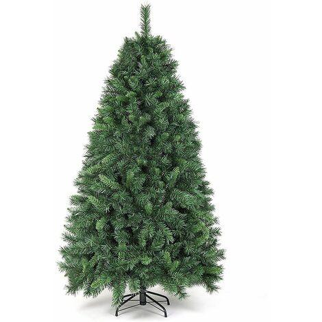 SALCAR Sapin de Noël Branches en PVC Vert, 180cm 580 Branches