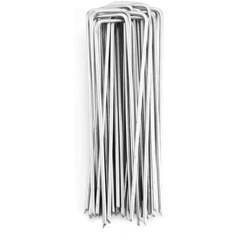 Agrafes pour toiles de paillage en Acier 150*30*3.5mm, 25 PCS