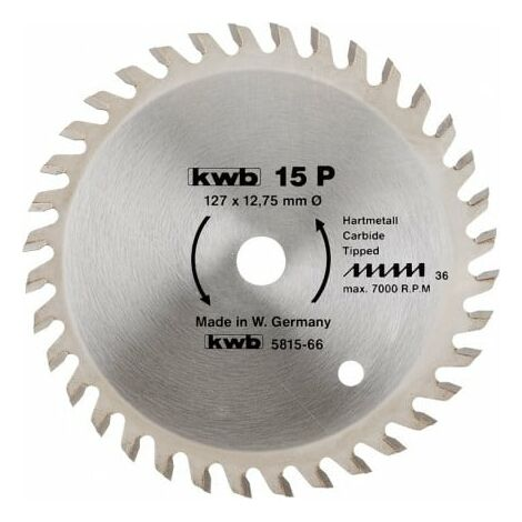 Précision lame de scies circulaires 210 x 30mm Z64 KWB