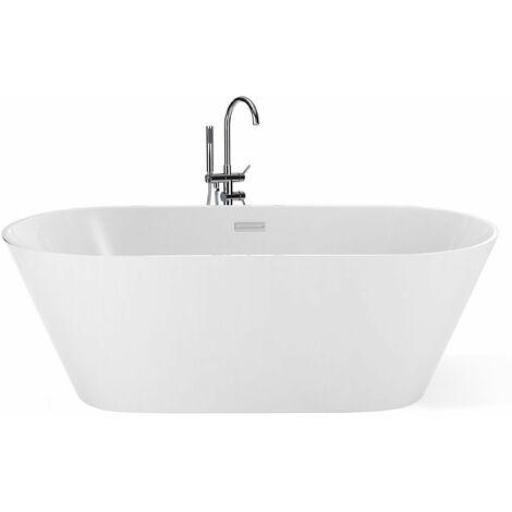 Vasca da bagno freestanding 160cm bianca HAVANA
