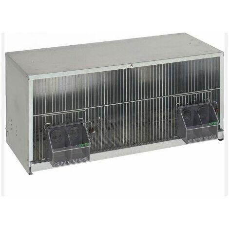 Cage pigeons 1,20m-2 compartiments