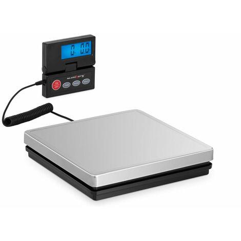 Pèse-colis numérique - 50 kg / 10 g - 25 x 25 cm - Écran LCD terne