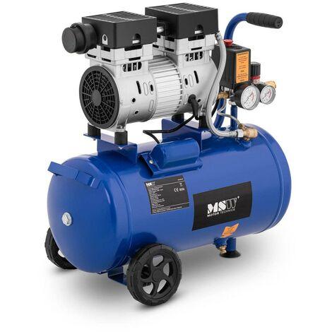 Compresseur d'air 24 litres 1 400 tr/min 750 watts