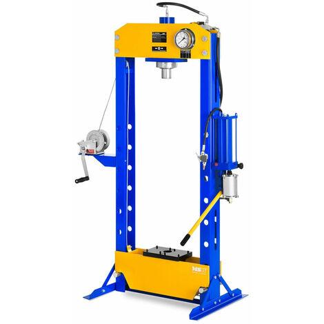 Presse d'atelier hydropneumatique 30 tonnes de pression