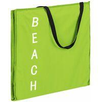 Lot de 2 transats de plage vert - Vert