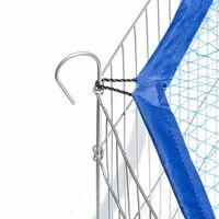 Enclos pour rongeurs filet de protection diamètre 145 cm bleu - Bleu