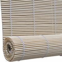 Store enrouleur bambou naturel 80 x 160 cm fenêtre rideau pare-vue volet roulant - Or