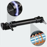 Stérilisateur UVC clarificateur d'eau inox bassins lampe 55 watts