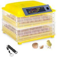 Couveuse à œufs 96 œufs mire-œuf inclus entièrement automatique
