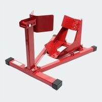 Support de moto pour roue avant pied de montage 110-130 mm - Or