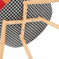 Chaise scandinave Lot de 2 chaise Chaise couleur