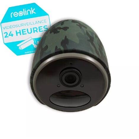 Reolink Go caméra 4G LTE 100% sans fil extérieure - modèle FRANCE / 1080P full HD / App / Détecte, enregistre, notifie