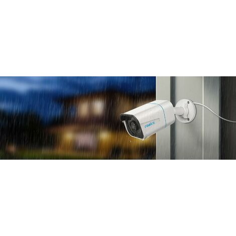 Caméra Reolink RLC-810A (Alerte intelligente / PoE & DC12V / 4K Ultra HD / IP66 / IR=30m)