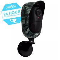 Caméra camouflage 100% sans-fil autonome IP / WIFI - Plage horaire / IP65 / 1080P FHD / APP (Reolink Argus 2)