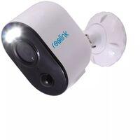 Modèle 2021 Caméra projecteur 100% sans-fil autonome IP / WIFI - Plage horaire / IP65 / 1080P / APP (Reolink Argus 3)