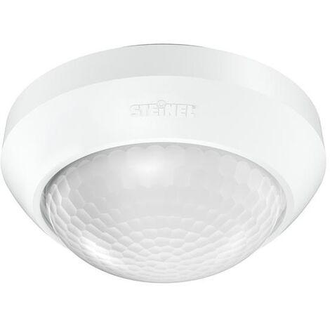 Steinel Détecteur de mouvement 3 LED PIR - 360 °C - 350m² - Etanche IP54 - Blanc