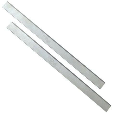 Jeu de 2 fers de dégauchisseuse/raboteuse 410 x 30 x 3 mm acier HSS (les 2 fers) - Diamwood