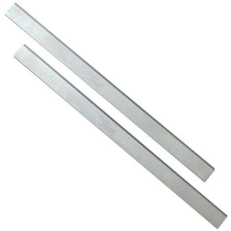 Jeu de 2 fers de dégauchisseuse/raboteuse 410 x 25 x 3 mm acier HSS (les 2 fers) - Diamwood