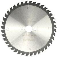 Dapetz 3 X Scie Circulaire Lames 235mm Diam/ètre 24 40 /& 48 Dents 30mm Calibre Disques Bois