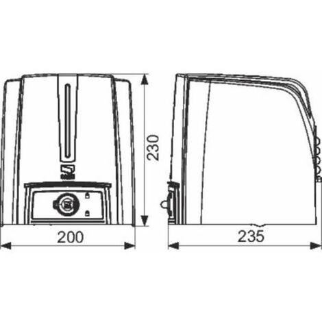 Automatisme pour portail battant connectable 24 V - Came