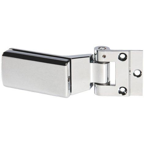 Paumelle et fiche - Pour porte verre - Série 4200 - Stremler