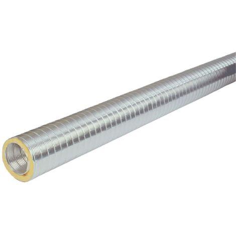 Conduit semi-rigide calorifugé - diamétre 160 mm - Atlantic