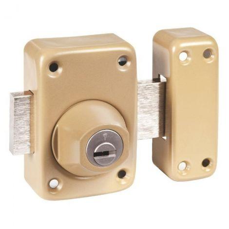 Verrou à cylindre - Cylindre 46 mm - Pêne 110 mm - Toro - Mul-T-lock