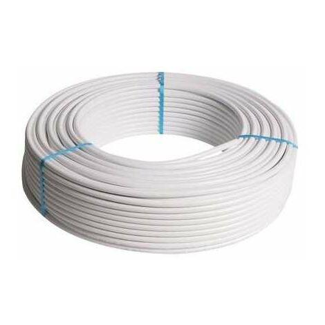 Tube multicouche RIXc non gainé blanc - Diamètre 16 mm - Longueur 100 m