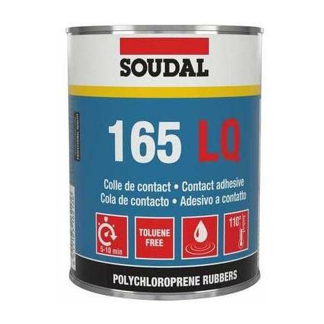 Colle néoprène 165LQ - Liquide - 5L - Soudal