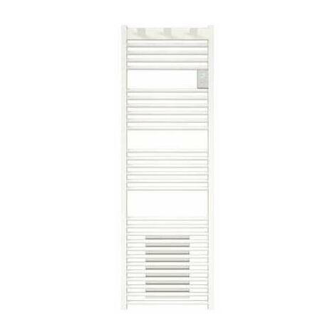 Radiateur sèche-serviettes - Doris digital mixte - 1750 W - Programmable - Blanc brillant - Atlantic