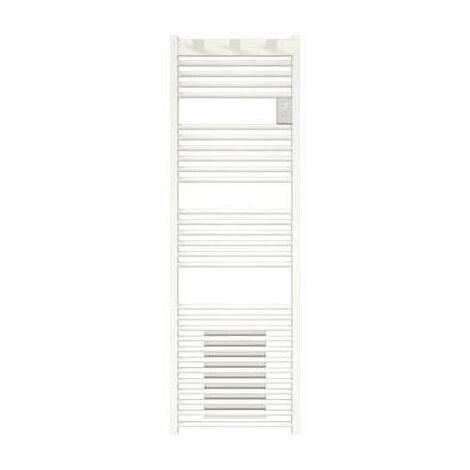 Radiateur sèche-serviettes - Doris digital ventilo - 1500 W - Programmable - Blanc brillant - Atlantic
